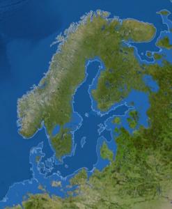 Sjunket Skandinavien