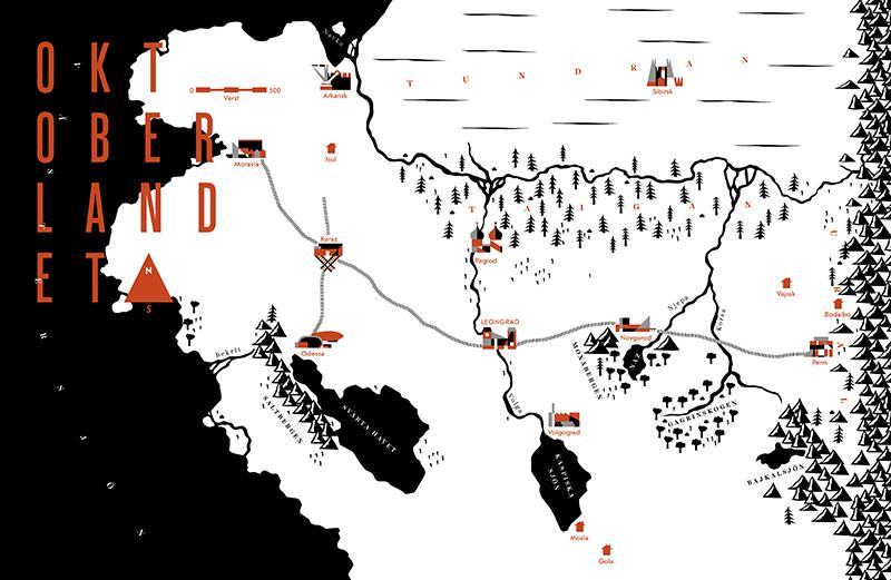 Oktoberlandet_karta