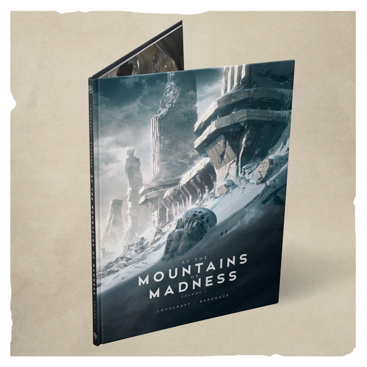 AT THE MOUNTAINS OF MADNESS ART BOOK